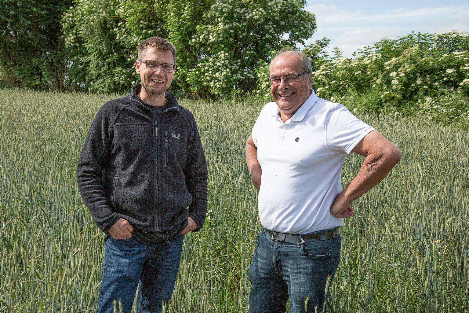 Christian Saggau und Klaus Peter Wesseling