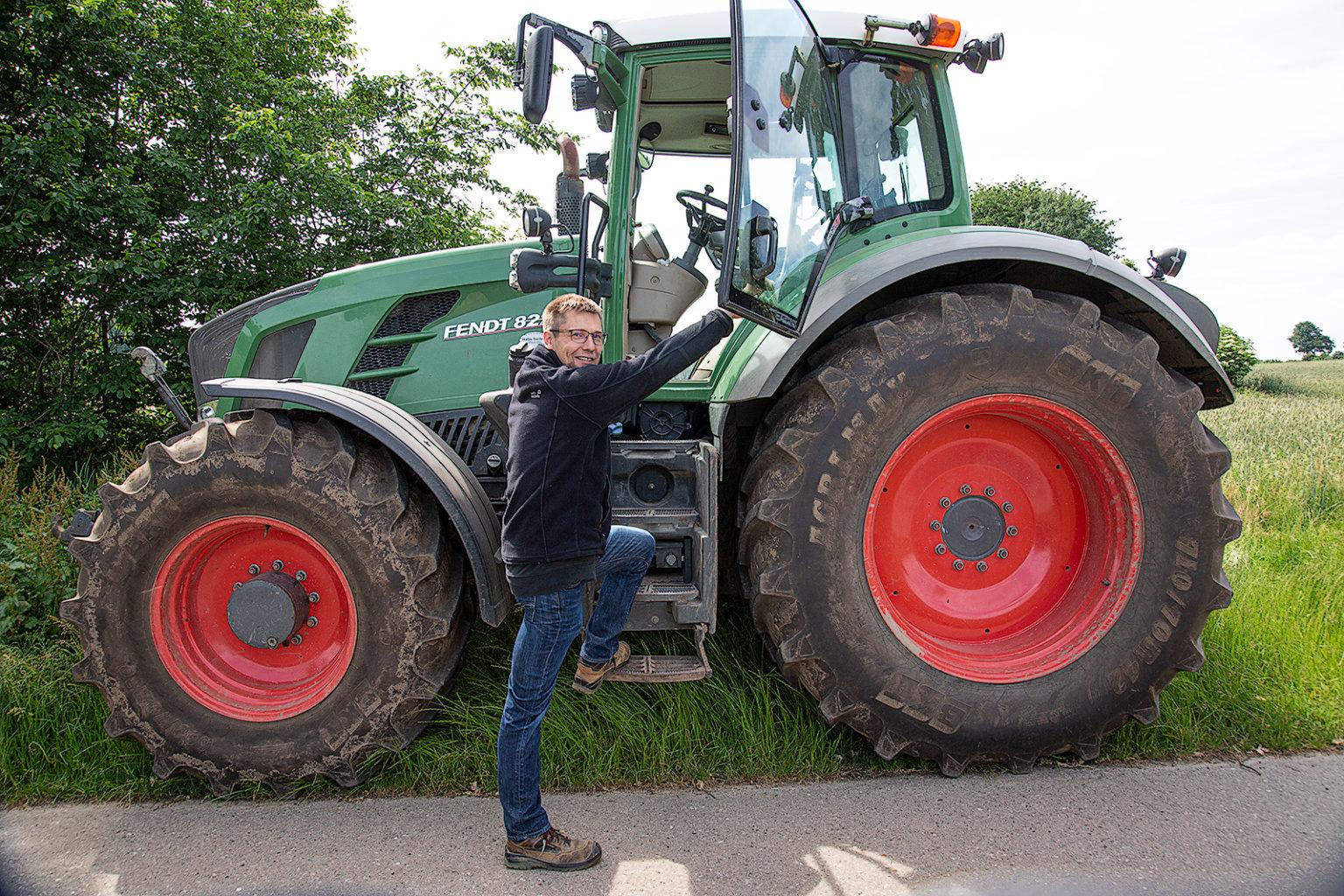 Bauer Christian Saggau aus Schmalensee